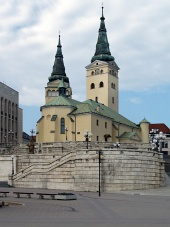Iglesia de la Santísima Trinidad, Zilina