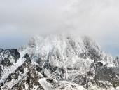 Peligrosa tormenta sobre High Tatras