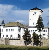 Castillo Budatin en Zilina, Eslovaquia