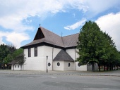Iglesia en Kezmarok, patrimonio de la UNESCO