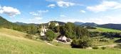 Castillo Sklabina, región de Turiec, Eslovaquia