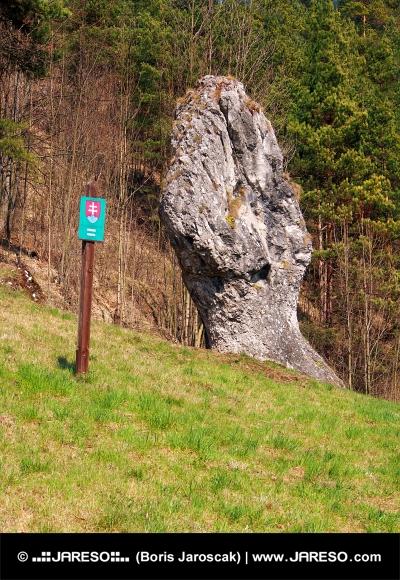 Fist of Janosik, monument naturel, la Slovaquie