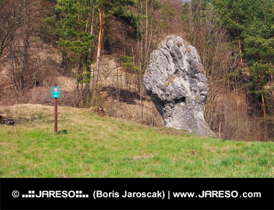 Fist of Janosik, monument naturel, la Slovaquie