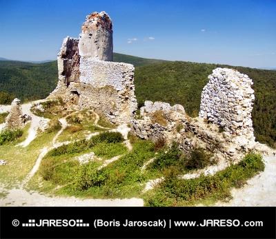 Le Château de Cachtice - Ruines