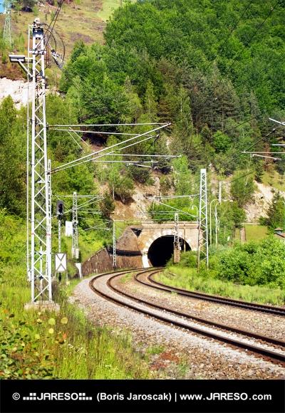 Railroad et tunnel