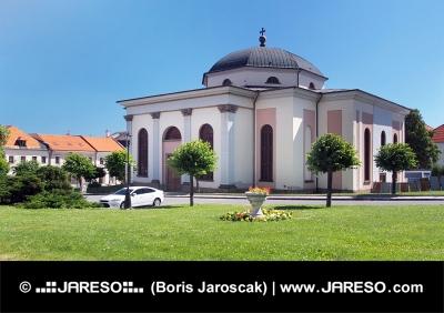 Église évangélique à Levoca médiévale