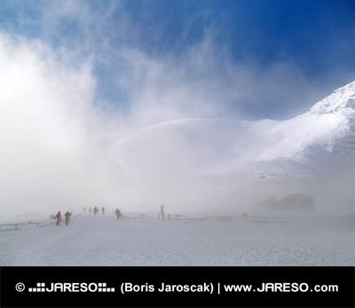 Plus la pente de ski en Slovaquie