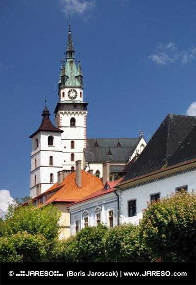 Église Sainte-Catherine et Kremnica Castle