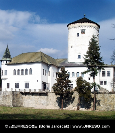 Château Budatin à Zilina, en Slovaquie