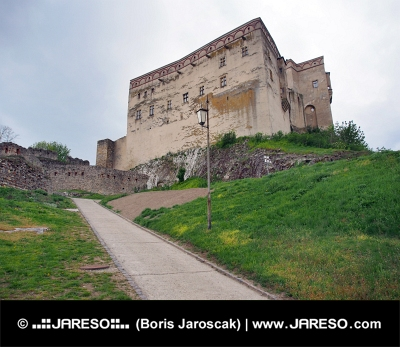 Palais du château de Trencin, Slovaquie