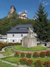 P. O. Hviezdoslav et le château d'Orava