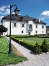 Palais des mariages dans Bytca, la Slovaquie