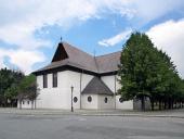 Église dans Kezmarok, patrimoine de l'UNESCO