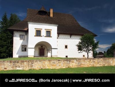 Pribylina संग्रहालय में मनोर घर