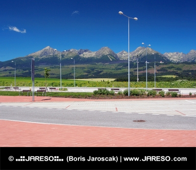 कार उच्च Tatras के तहत आराम