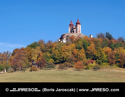 Ostry Vrch पर कलवारी, Banska Stiavnica