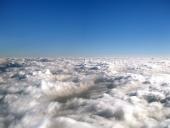 बादलों के ऊपर