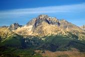 गर्मियों में उच्च टाट्रा पर्वत