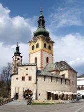 Banska Bystrica में सिटी कैसल