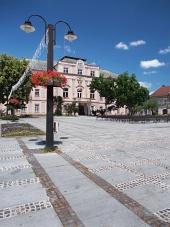 Liptovsky Mikulas में पुरानी काउंटी हॉल