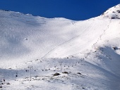 उच्च Tatras में उच्चतम स्की ढलान