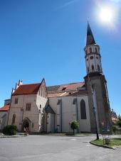 Levoca में सेंट जेम्स चर्च