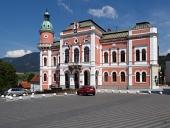 Ruzomberok, स्लोवाकिया में टाउन हॉल