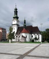 Zvolen, स्लोवाकिया में सेंट एलिजाबेथ के चर्च