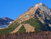 Predne Solisko, उच्च Tatras में शरद ऋतु