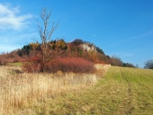 Vysnokubinske Skalky, स्लोवाकिया में शरद ऋतु