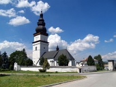 Partizanska Lupca में सेंट मैथ्यू के चर्च