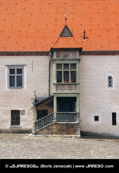 Bay ablak (Arkier), Bardejov, Szlovákia
