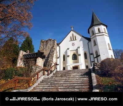 Római katolikus templom Mosovce, Szlovákia