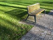 Pad egy parkban
