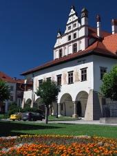 Egyedülálló városháza Lőcse