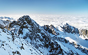 The High Tatras are the highest mountain range in the Carpaths!