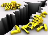 Differenze di cambio tasso del dollaro e POUND