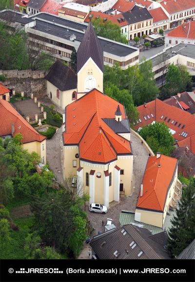 Chiesa cattolica romana in Trencin, Slovacchia