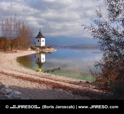 Attrezzatura da pesca al Liptovska Mara, Slovacchia