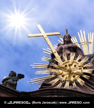 Il sole e la croce