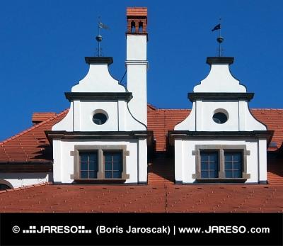 Unico tetti medievali a Levoca