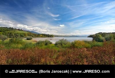 Liptovska Mara come si vede dalla Bobrovnik