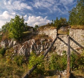 Rovine del Castello di Liptov, Slovacchia