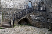 Interno del castello di Strecno