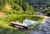 Mining punto di riferimento d'acqua, Spania Dolina