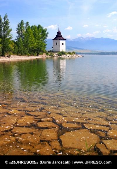 リプトフスカマラ湖、スロバキアでの晴れた日