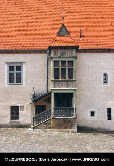 出窓(Arkier)、バルデヨフ、スロバキア