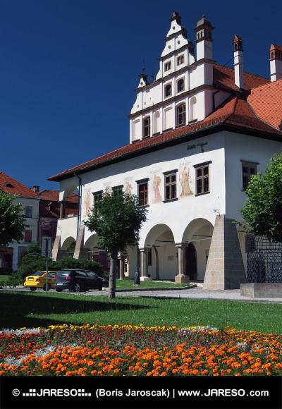 レヴォチャにユニークな町役場