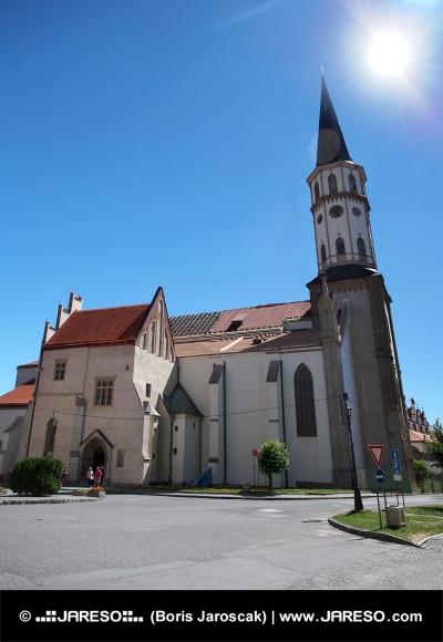 レヴォチャのセントジェームズ教会