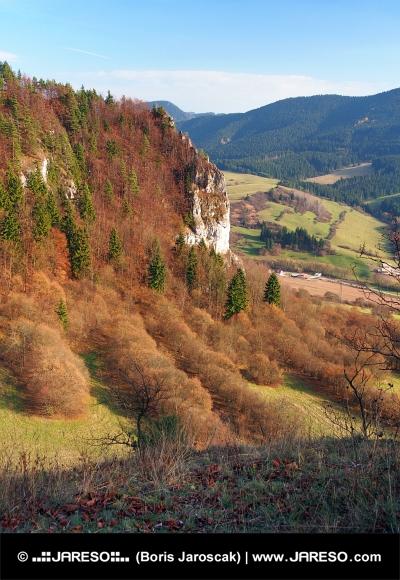 ツパンスカラ、スロバキアからの見通し